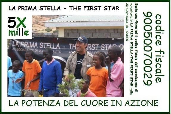 5x1000 - La Prima Stella - The First Star