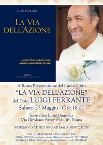 Presentazione del libro LA VIA DELL'AZIONE a Roma