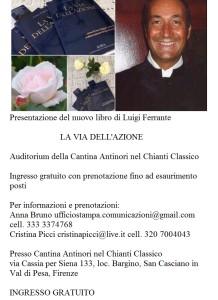 Presentazione del libro LA VIA DELL'AZIONE a Firenze